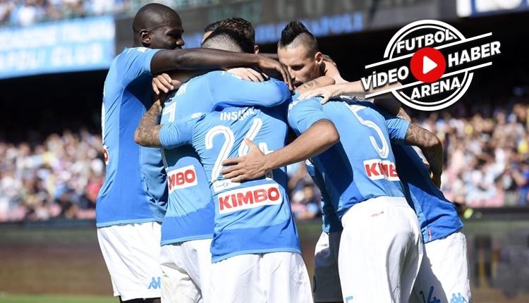 Napoli - Benevento maçı özeti ve golleri (İZLE)