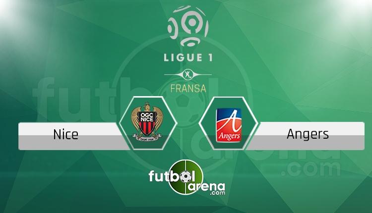 Nice Angers canlı skor, maç sonucu - Maç hangi kanalda?