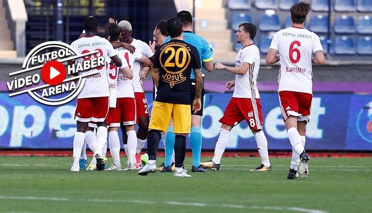 Osmanlıspor - Sivasspor maçı özeti ve golleri İZLE