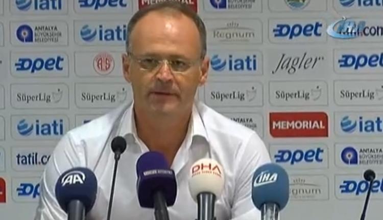 Osmanlıspor'da İrfan Buz'dan maç sonu şanssızlık vurgusu