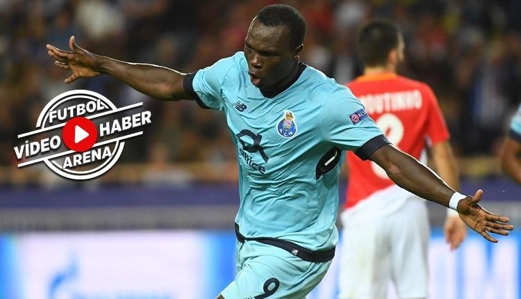 Porto - Monaco maçında Vincent Aboubakar'ın attığı goller (İZLE)