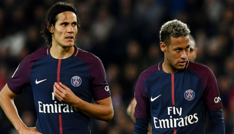 Paris Saint Germain'de Neymar kadroya alınmadı