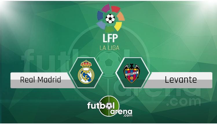 Real Madrid Levante canlı skor, maç sonucu - Maç hangi kanalda?