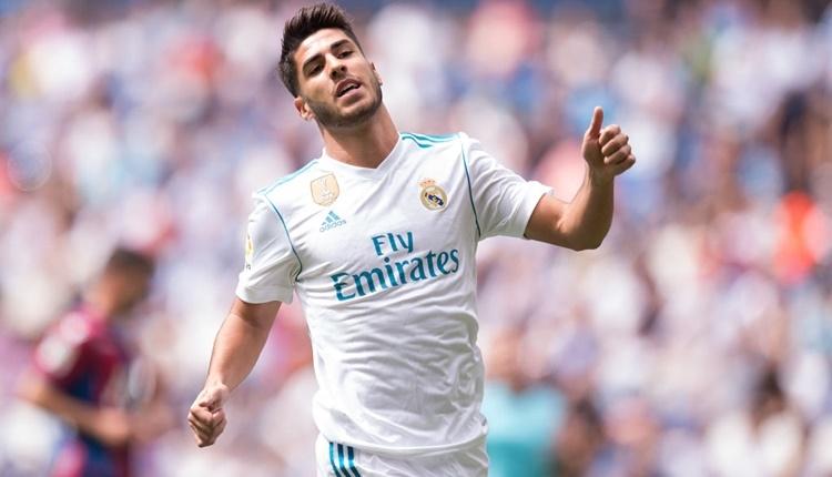Real Madrid Marco Asensio ile sözleşme yeniledi