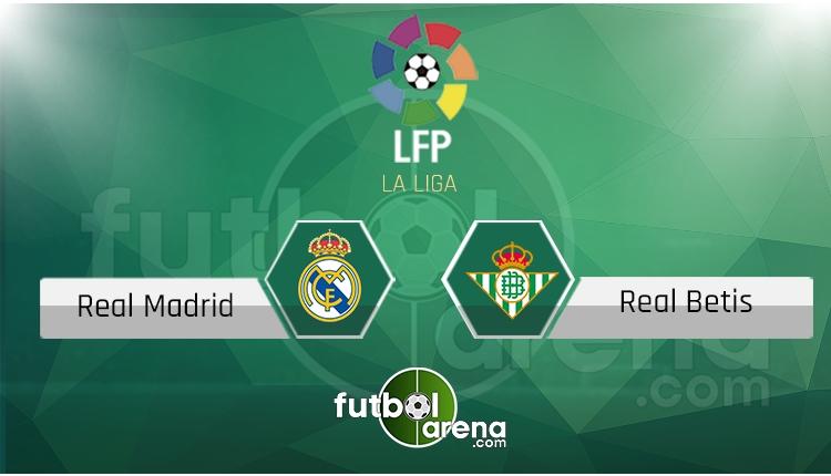 Real Madrid Real Betis canlı skor, maç sonucu - Maç hangi kanalda?