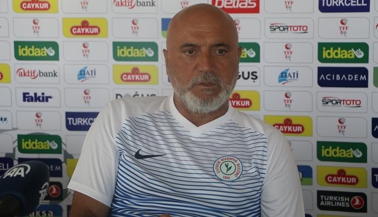Rizespor'da Hikmet Karaman, Ankaragücü maç sonu özür diledi