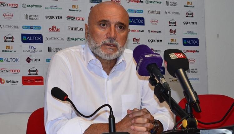 Rizespor'da Hikmet Karaman'dan maç sonu penaltı tepkisi