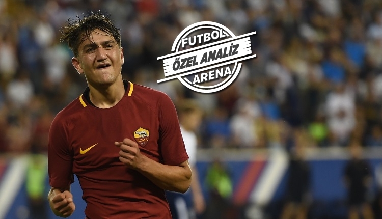 Roma - Verona maçında Cengiz Ünder'in dikkat çeken performansı