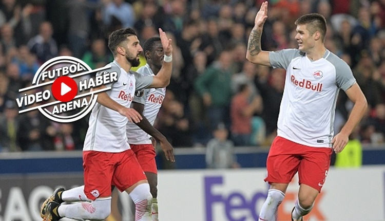 Salzburg 1-0 Marsilya maçı özeti ve golü (İZLE)