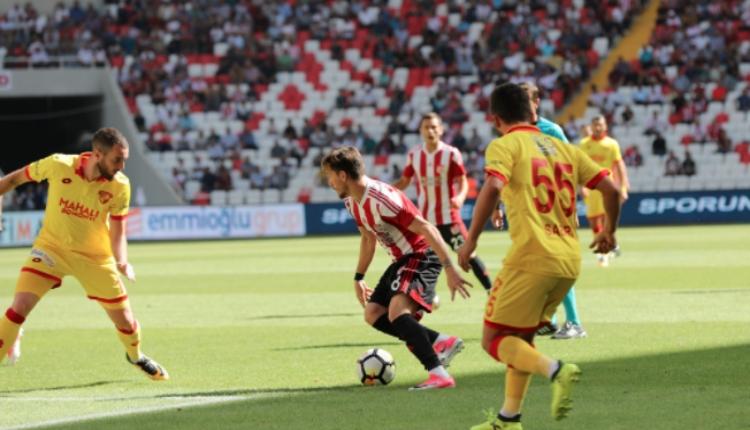 Sivasspor 2 - 3 Göztepe maç özeti ve golleri İZLE