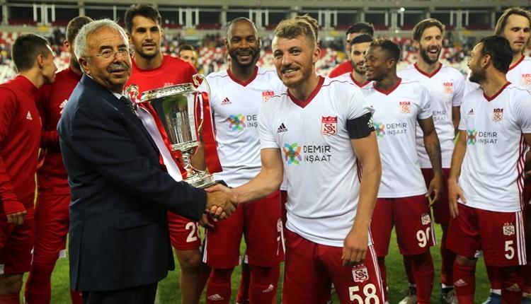Sivasspor 7. kez Cumhuriyet Kupası'nı kazandı