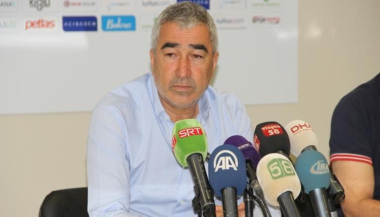 Sivasspor'da Samet Aybaba yenilginin sebebini açıkladı