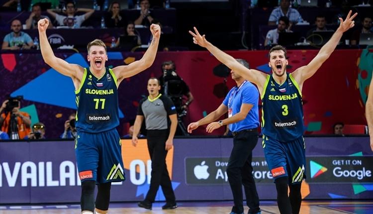 Slovenya tarihinde ilk kez finale yükseldi