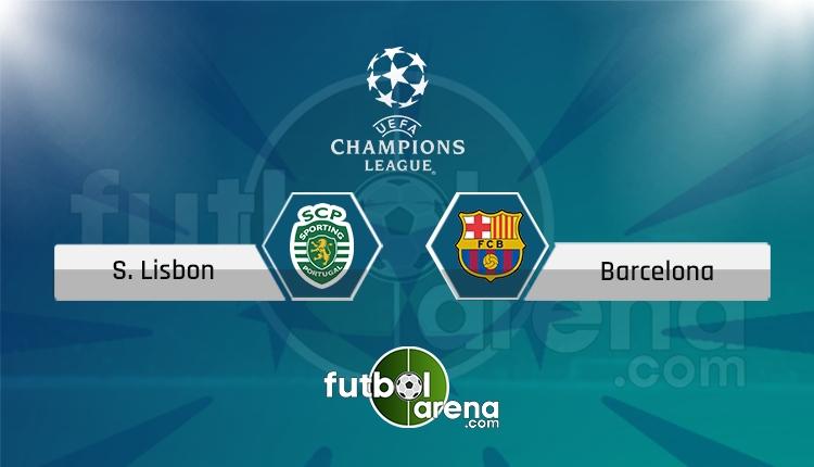 Sporting Lisbon - Barcelona canlı skor, maç sonucu - Maç hangi kanalda?
