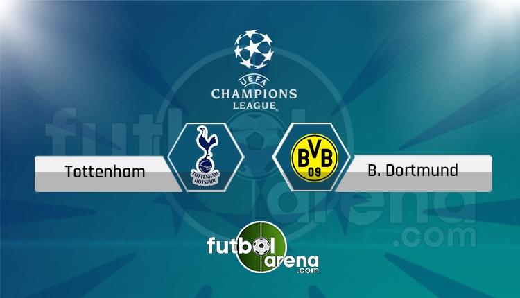 Tottenham Borussia Dortmund canlı skor, maç sonucu - Maç hangi kanalda?