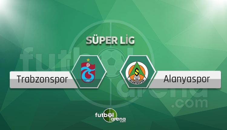 Trabzonspor Alanyaspor canlı skor, maç sonucu - Maç ne zaman?