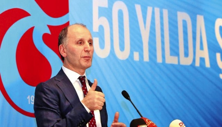 Trabzonspor Başkanı Muharrem Usta'dan Emre Aksoy'a uyarı