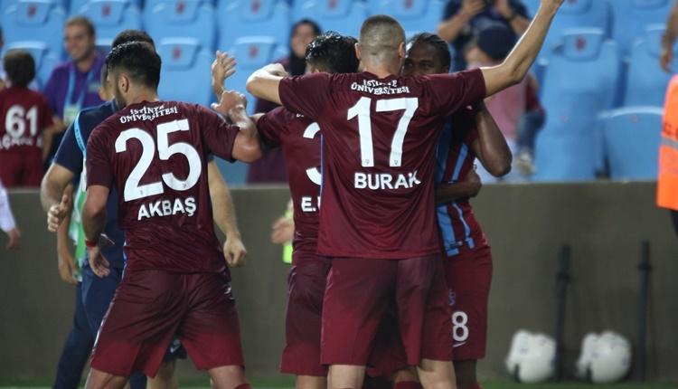 Trabzonspor - Gençlerbirliği maçı özeti ve golleri izle