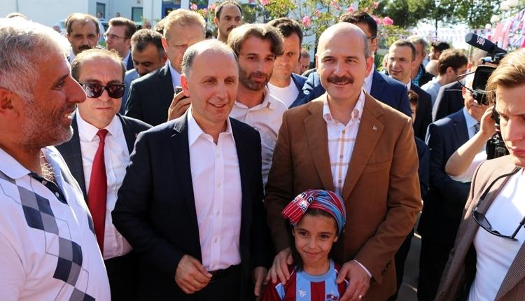 Trabzonspor için İçişleri Bakanı Süleyman Soylu'dan şampiyonluk iddiası