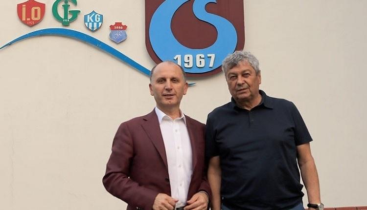 Trabzonspor'a Lucescu'dan ziyaret
