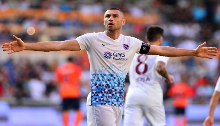 Trabzonspor'da Burak Yılmaz'dan Şenol Güneş pazubandı