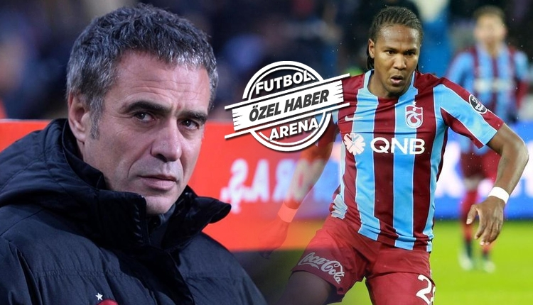Trabzonspor'da Ersun Yanal'dan Rodallega kararı