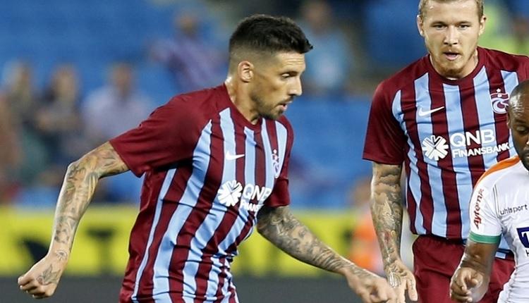 Trabzonspor'da Jose Sosa'dan Alanya maçı sonrası itiraf: