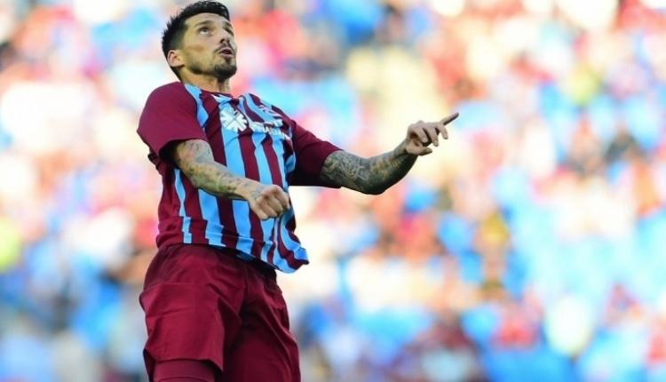 Trabzonspor'da yeni lider Jose Sosa
