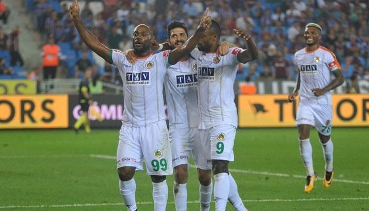 Trabzonspor 3-4 Alanyaspor maçı özeti ve golleri (İZLE)