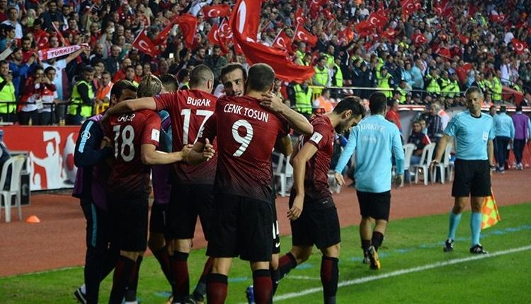 Türkiye, FIFA'da 6 basamak yükseldi