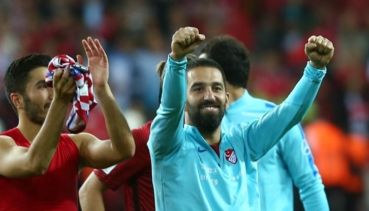 Türkiye - Hırvatistan maç sonu Arda Turan'dan Oğuzhan'a övgüler