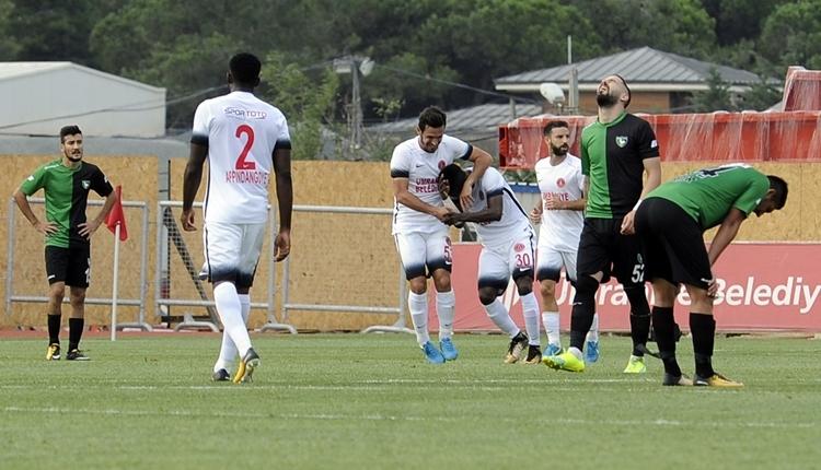 Ümraniyespor 4-2 Denizlispor maç özeti ve golleri