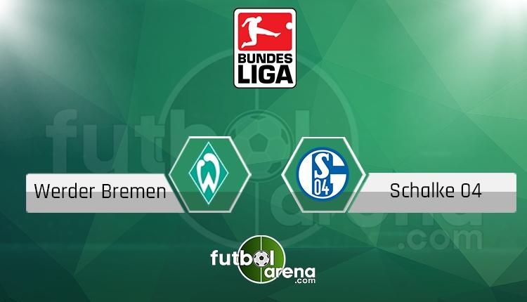 Werder Bremen Schalke canlı skor, maç sonucu - Maç hangi kanalda?