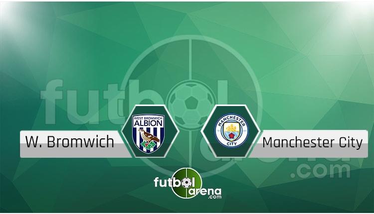 West Bromwich Albion - Manchester City canlı skor, maç sonucu - Maç hangi kanalda?