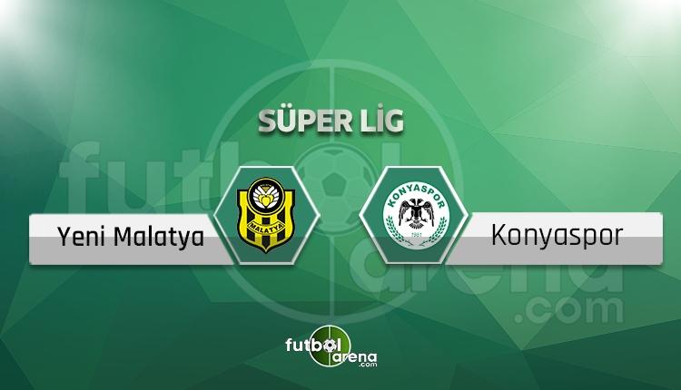 Yeni Malatyaspor - Atiker Konyaspor canlı skor, maç sonucu - Maç hangi kanalda?