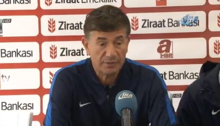 Adana Demirspor'da Giray Bulak'tan galibiyet açıklaması