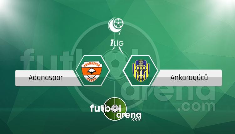 Adanaspor Ankaragücü canlı skor, maç sonucu - Maç hangi kanalda?