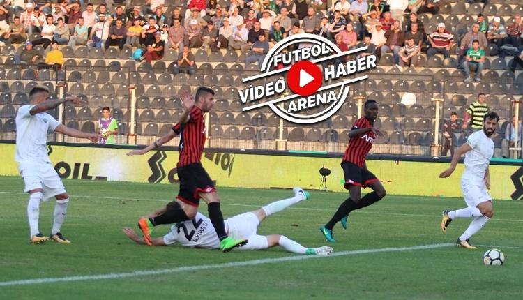 Akhisarspor 3-3 Gençlerbirliği maçı özeti ve golleri (İZLE)