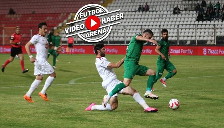 Akhisarspor 6-0 24 Erzincanspor maçı özeti ve golleri (İZLE)