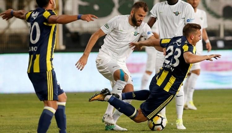Akhisarspor'da Mustafa Yumlu, Fenerbahçe formasını yere attı