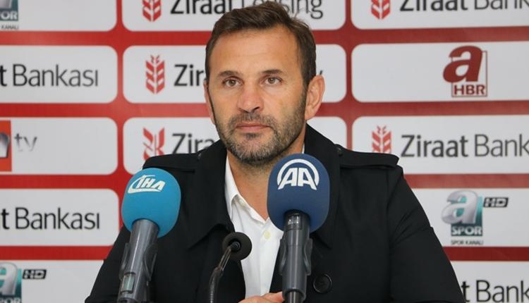 Akhisarspor'da Okan Buruk'tan futbolcularına övgü! 'Zevk aldılar'