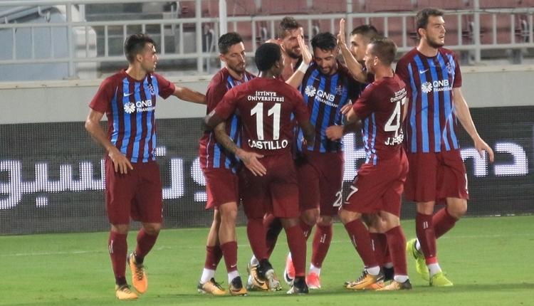 Al Sadd 1-2 Trabzonspor maç özeti ve golleri (İZLE)