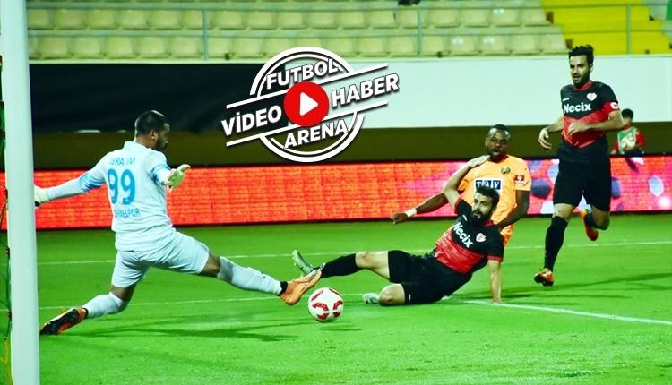 Alanyaspor - Edirnespor maçı özeti ve golleri (İZLE)