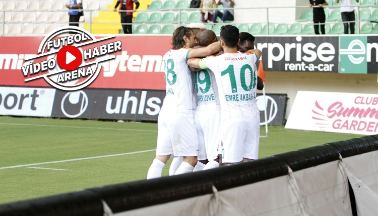 Alanyaspor - Gençlerbirliği maçı özeti ve golleri (İZLE)