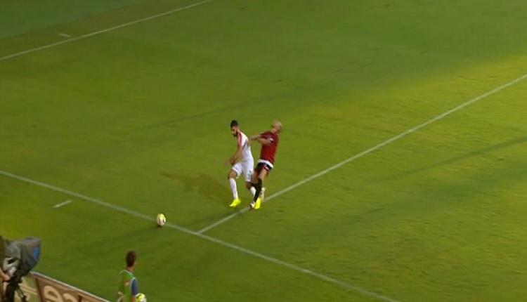 Alanyaspor - Gençlerbirliği maçında tartışmalı karar! Herkes penaltı sandı ama...