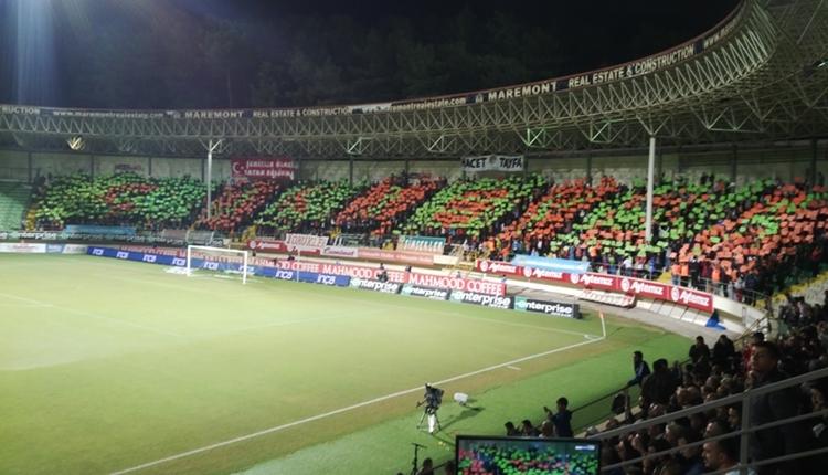 Alanyaspor taraftarından Akhisarspor maçına çıkarma