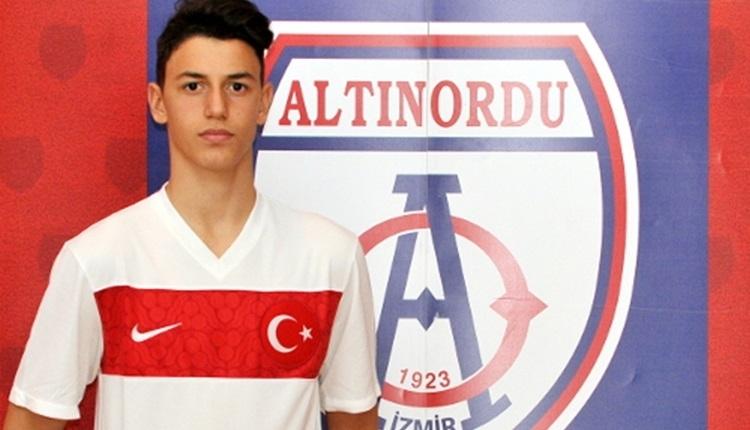 Altınordu'da Berke Özer, en iyi 60 genç futbolcu arasında