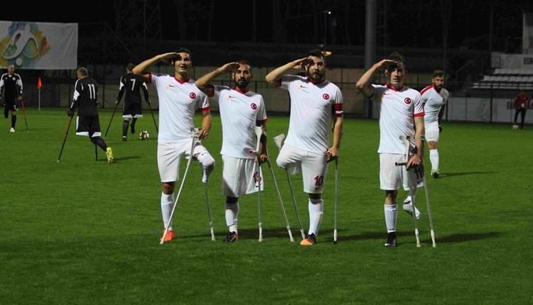 Ampute Milli Takımı, Gürcistan'a gol yağdırdı