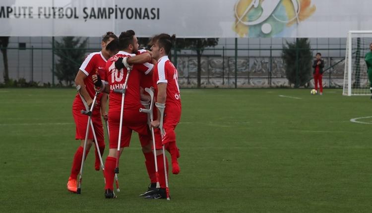 Ampute Milli Takımımız, Almanya'yı 7-0 yendi