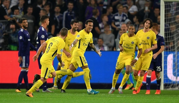 Anderlecht 0-4 PSG maçı özeti ve golleri (İZLE)